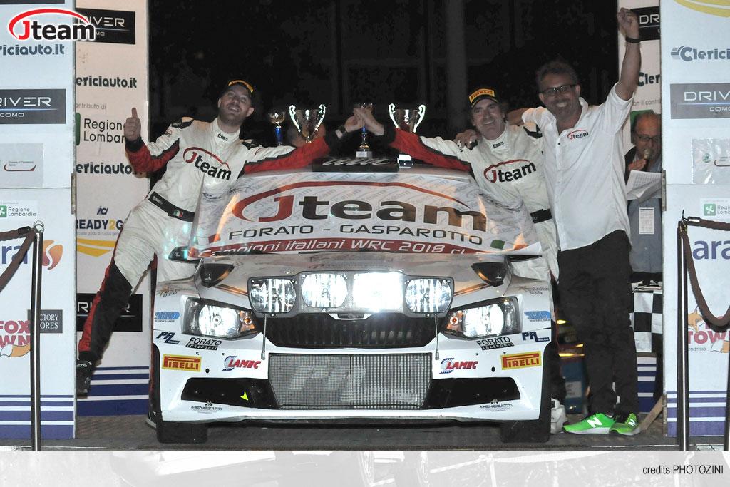 Forato è il numero uno, tra le R5, e regala il titolo nel CIWRC a Jteam